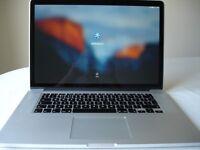 """MacBook Pro Retina 15.4"""" (Mid-2014) 2.2GHz, Core i7 256GB SSD 16GB RAM"""