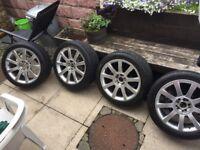 """Vw/Audi alloy wheels 17"""" 5x100/5x112"""