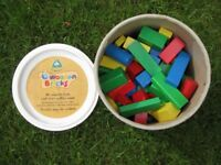 ELC big tub of wooden bricks