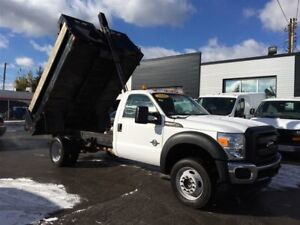 2016 Ford F-550 CHASSIS CAB DIESEL 4x4 DUMP !!!