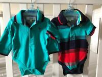 Ted baker baby vests x2