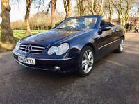 Automatic | Mercedes-Benz CLK 1.8 CLK200 Kompressor | Leather seats | Convertable | Low Miles | 2006