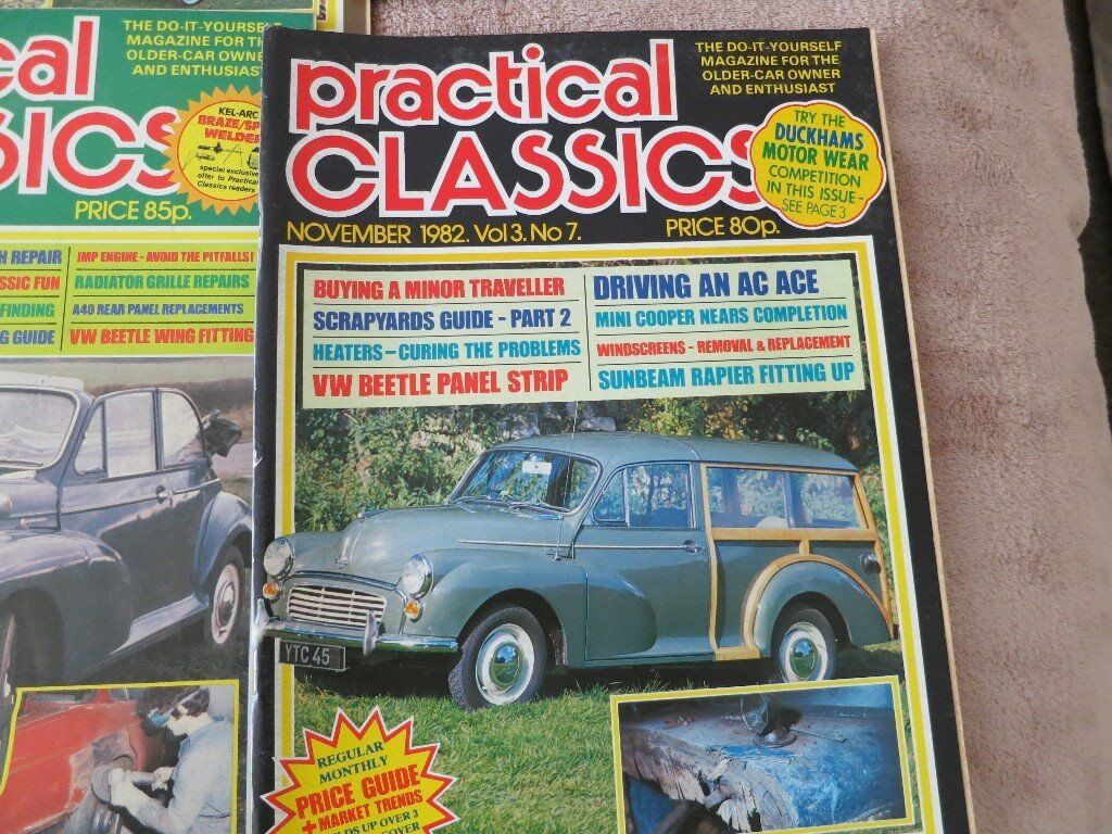 Beautiful Old Cars Price Guide Magazine Illustration - Classic Cars ...