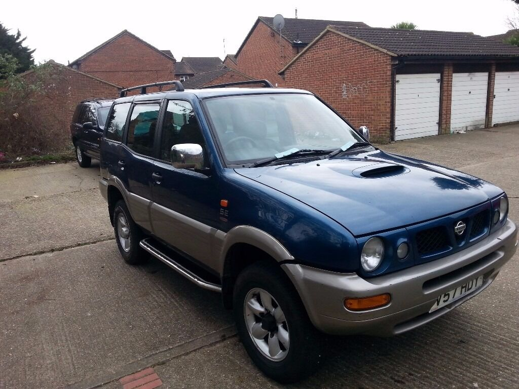 1999 nissan terrano 2 diesel 4x4 2 7 in grays essex gumtree. Black Bedroom Furniture Sets. Home Design Ideas