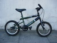 Kids Bike by Aleola, Green, 14 inch Wheels are Great for Kids 4 Years, JUST SERVICED/ CHEAP PRICE!!!