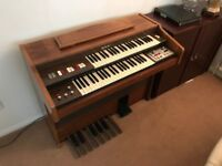 Farfisa Synthersiser - With Partner 14 Drum Machine