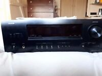 Denon AVR 1312 Amp - including remote and CD/physical manuals
