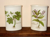 Poole Pottery Country Lane Vases