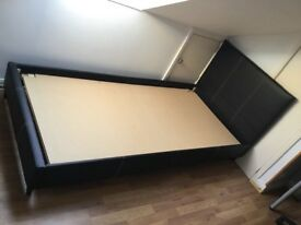 Single bed/headboard with mattress