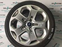 FORD MONDEO MK4 2007-2010 ALLOY WHEEL R18 WITH BAD TYRE EO58-4