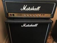 1984 Marshall JCM800 2203 100W Head & 1936 2x12 Cab