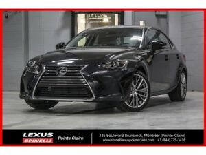 2019 Lexus IS 300 PREMIUM AWD; CUIR TOIT CAMERA ANGLES MORTS LSS