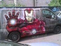 Artist - Street Art Mural Graffiti - Indoor Outdoor Vehicles Canvas Festivals- Bristol and UK