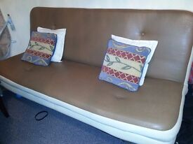Free large click clack bed settee
