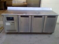 CATERING COMMERCIAL BENCH FREEZER COUNTER WORK TOP CAFE KEBAB BAKERY CHICKEN RESTAURANT KITCHEN