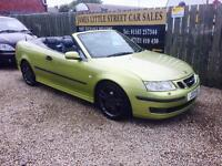 Saab 9-3 vector 2.0 automatic convertible 04 Reg leather interior excellent condition long mot