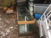 5ft aquarium/vivarium for sale