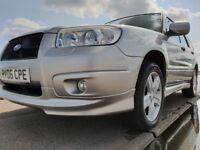Subaru Forester XT turbo family estate 1 YEAR MOT for the new owner