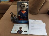 Compare The Meerkat Sergei As Superman Soft Toy Plush Teddy