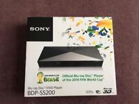 Sony blu ray disc/DVD player