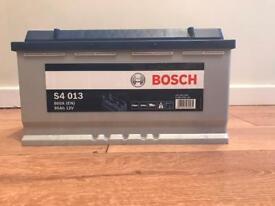 Bosch car battery - new