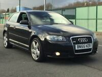 2006 AUDI A3 2.0 TFSI QUATTRO S LINE * 3 DOOR * H/LEATHER * BOSE * F.S.H * PART EX * DELIVERY *