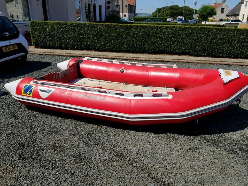 Zodiac futura fastroller mk2 sib rib boat with yamaha 30hp outboard | in  Anstruther, Fife | Gumtree