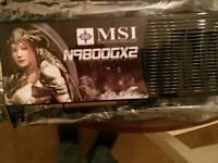 9800GX2 graphics card