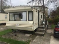 Static caravan, ready for immediate use. Rent paid until the end 2017.