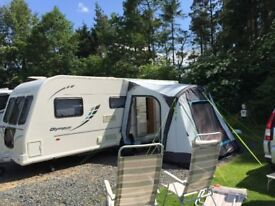 Caravan Awning. Oxygen Porchlite Awning in excellent condition. Quick to put up, ideal for weekends