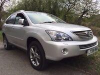 2008 *LEXUS RX400 H SE-L WOOD 4WD CVT AUTO ELECTRIC/HYBRID *NAV*REAR SCREENS*