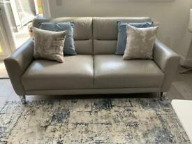 3 seater real leather sofa from NEXT pickup Barrhead