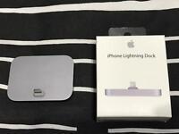Genuine Apple Lightning Dock - Space Grey - for iPhone
