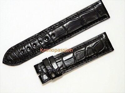 F.P.Journe Black Alligator Strap 19.5mm for Vagabondage Series New !