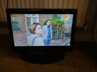 "Digital LCD Television TV,Remote Control,19"" so ideal size 4 caravan/motorhome,bedroom or PC monitor"