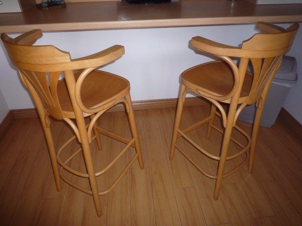beech bar stools