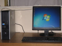 HP Wireless Gaming PC Core2 Duo 3Ghz x 2, 4gb, Win 7,17 inch LCD,Keyboard full setup, swaps welcome