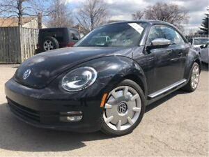 2013 Volkswagen Beetle 2.5L Fender Ed BIG MAGS LEATHER PANORAMA