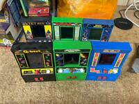 Six mini arcade machine