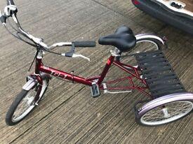 Pashley Tri-1 Tricycle , Trike, Three Wheeler