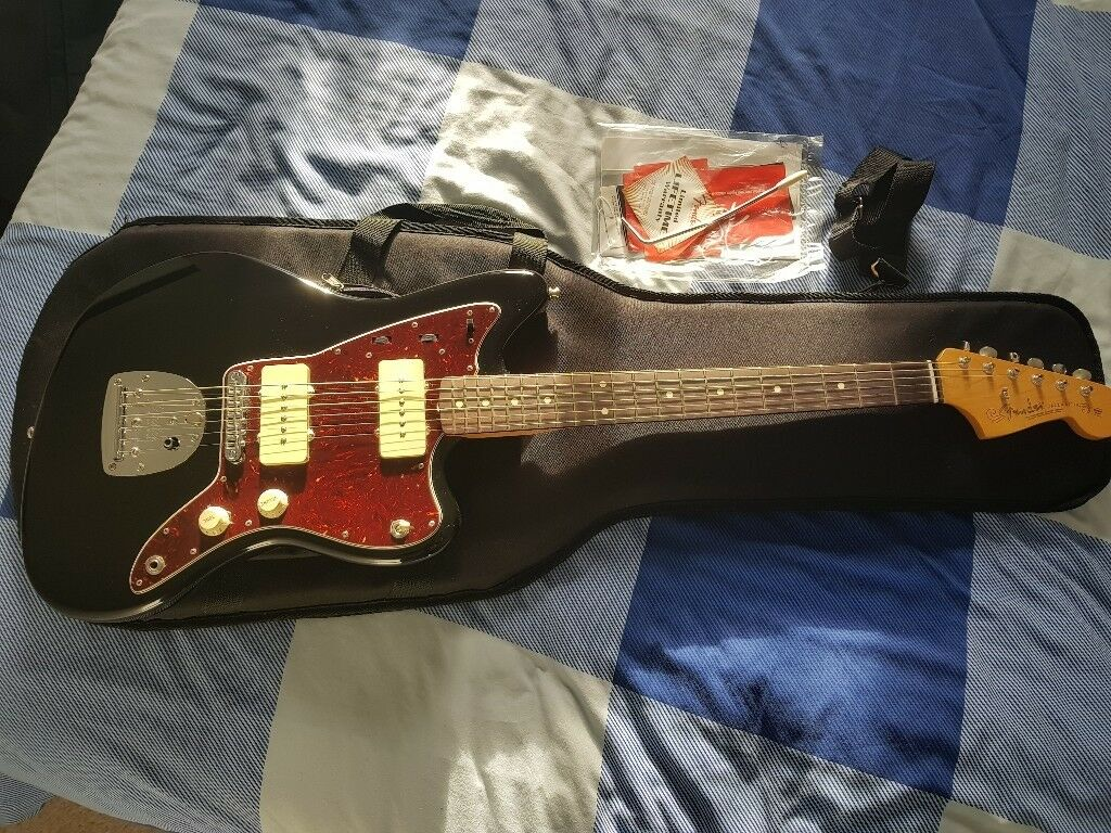 2015 Fender Class Player Jazzmaster With Fender Universal A Frame