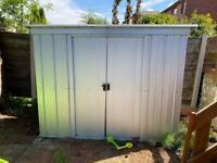 Yardmaster metal garden shed 6x4ft