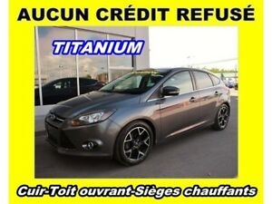 2012 Ford Focus TITANIUM TOIT OUVRANT SIÈGES CHAUFFANTS *CUIR*