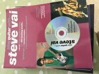 Steve Vai guitar music book, play guitar with