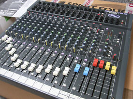 Soundcraft Spirit Folio SX mixing desk