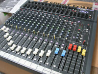 Soundcraft Spirit Folio SX mixing desk