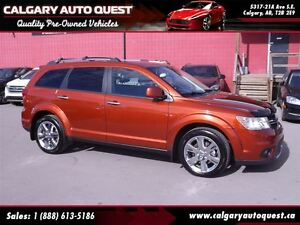2013 Dodge Journey R/T AWD/NAVI/3RD ROW/LEATHER