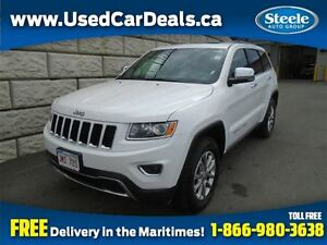 2016 Jeep Grand Cherokee Limited 3.6L 4X4 Htd Lthr Sunroof