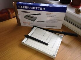 Near New Paper Cutter