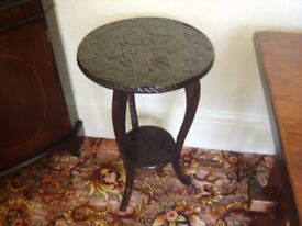 LOVELY CARVED TABLE